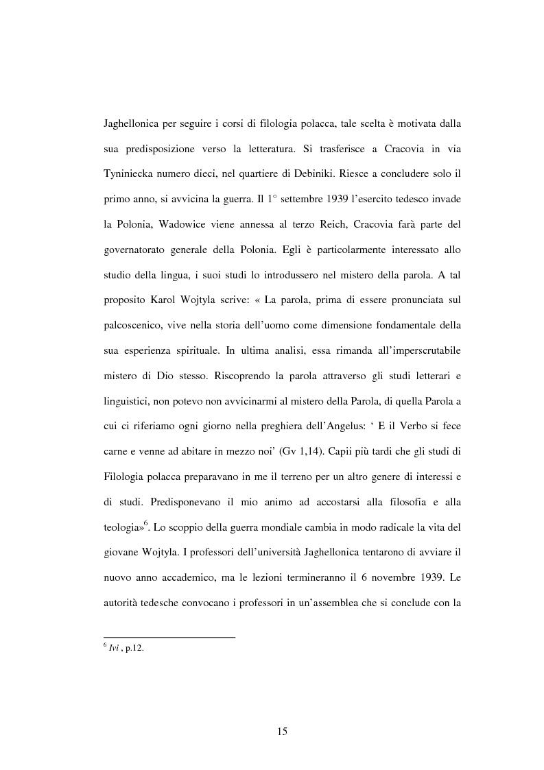 Anteprima della tesi: Etica e verità nelle encicliche di Karol Wojtyla, Pagina 8