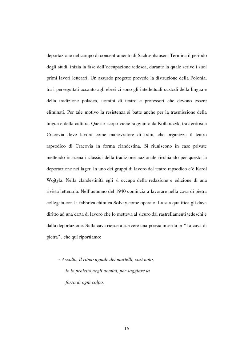 Anteprima della tesi: Etica e verità nelle encicliche di Karol Wojtyla, Pagina 9