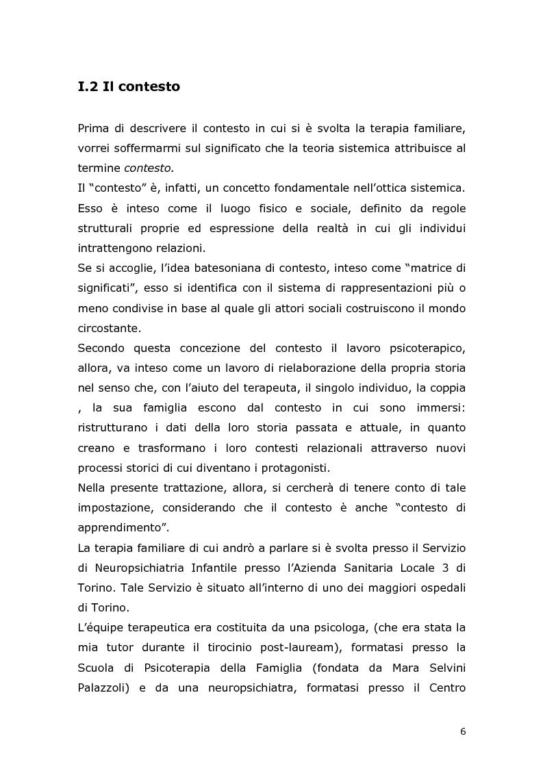 Anteprima della tesi: Com'è difficile crescere! Analisi di un caso di un'adolescente adottata, Pagina 4