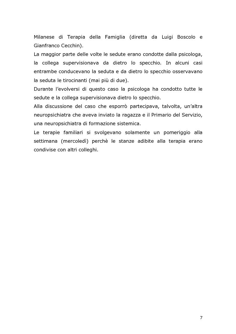 Anteprima della tesi: Com'è difficile crescere! Analisi di un caso di un'adolescente adottata, Pagina 5