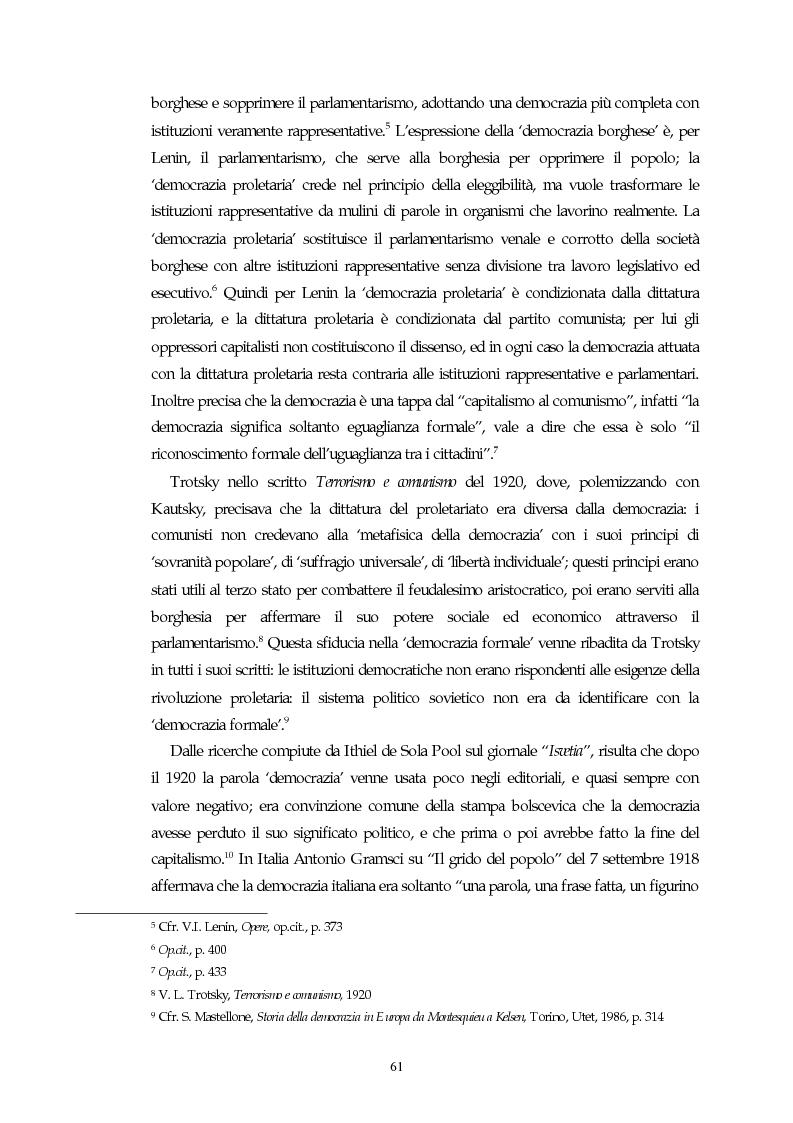 Anteprima della tesi: Il concetto di parlamentarismo nella teoria dello Stato kelseniana: la difesa della democrazia negli scritti politici 1920-1933, Pagina 2