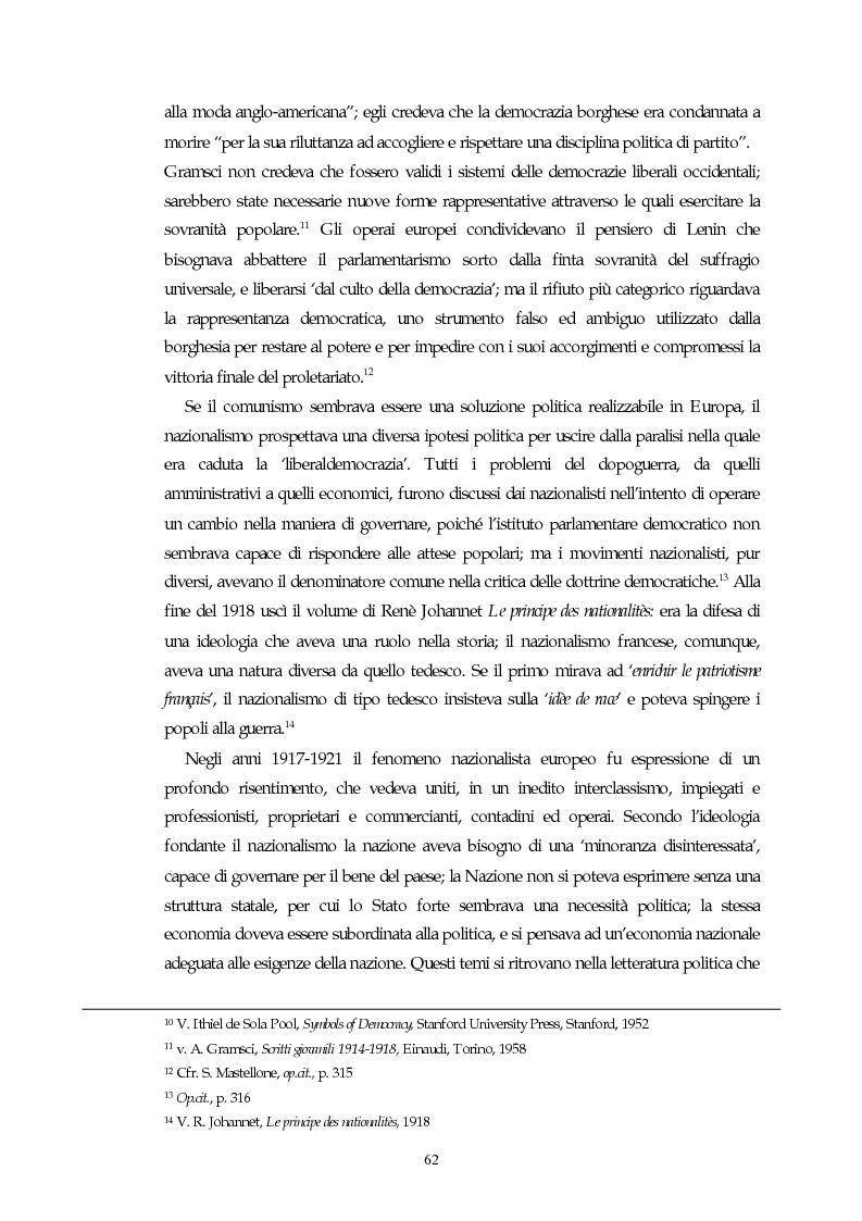 Anteprima della tesi: Il concetto di parlamentarismo nella teoria dello Stato kelseniana: la difesa della democrazia negli scritti politici 1920-1933, Pagina 3