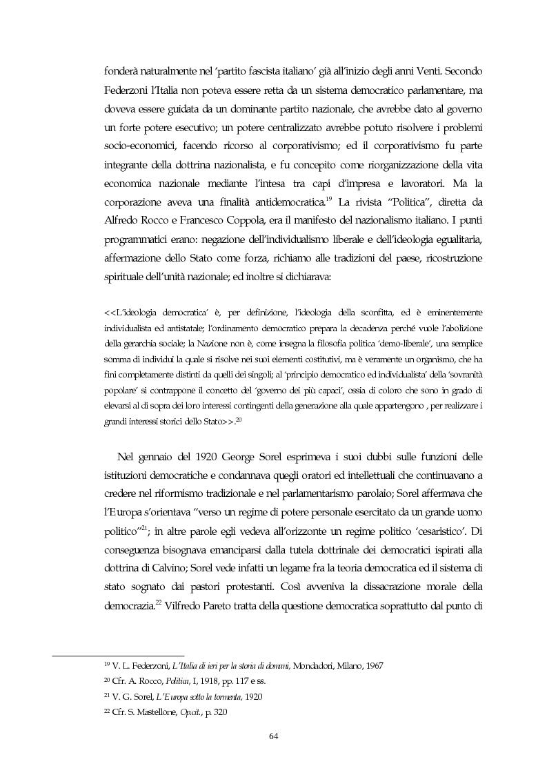 Anteprima della tesi: Il concetto di parlamentarismo nella teoria dello Stato kelseniana: la difesa della democrazia negli scritti politici 1920-1933, Pagina 5