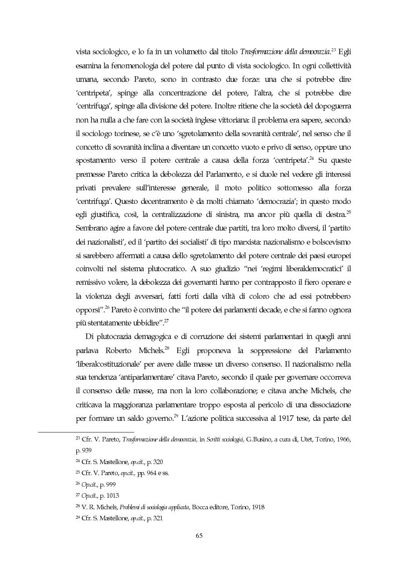 Anteprima della tesi: Il concetto di parlamentarismo nella teoria dello Stato kelseniana: la difesa della democrazia negli scritti politici 1920-1933, Pagina 6