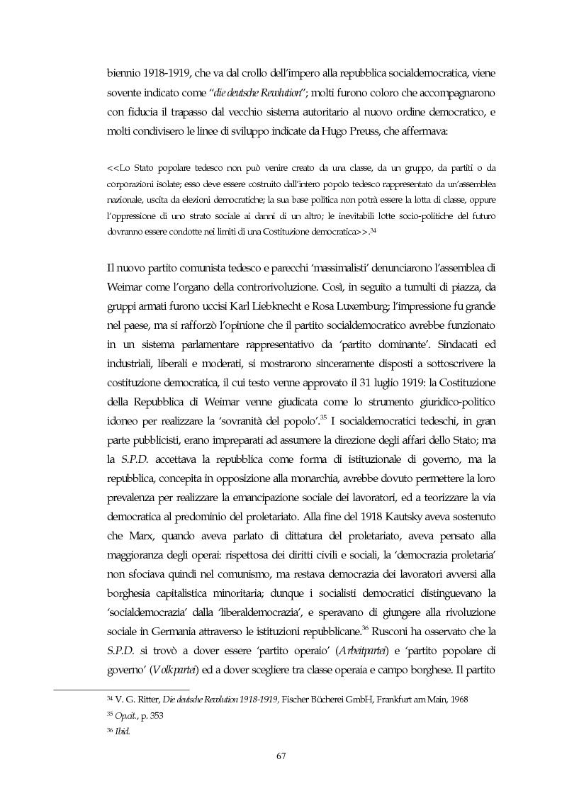 Anteprima della tesi: Il concetto di parlamentarismo nella teoria dello Stato kelseniana: la difesa della democrazia negli scritti politici 1920-1933, Pagina 8