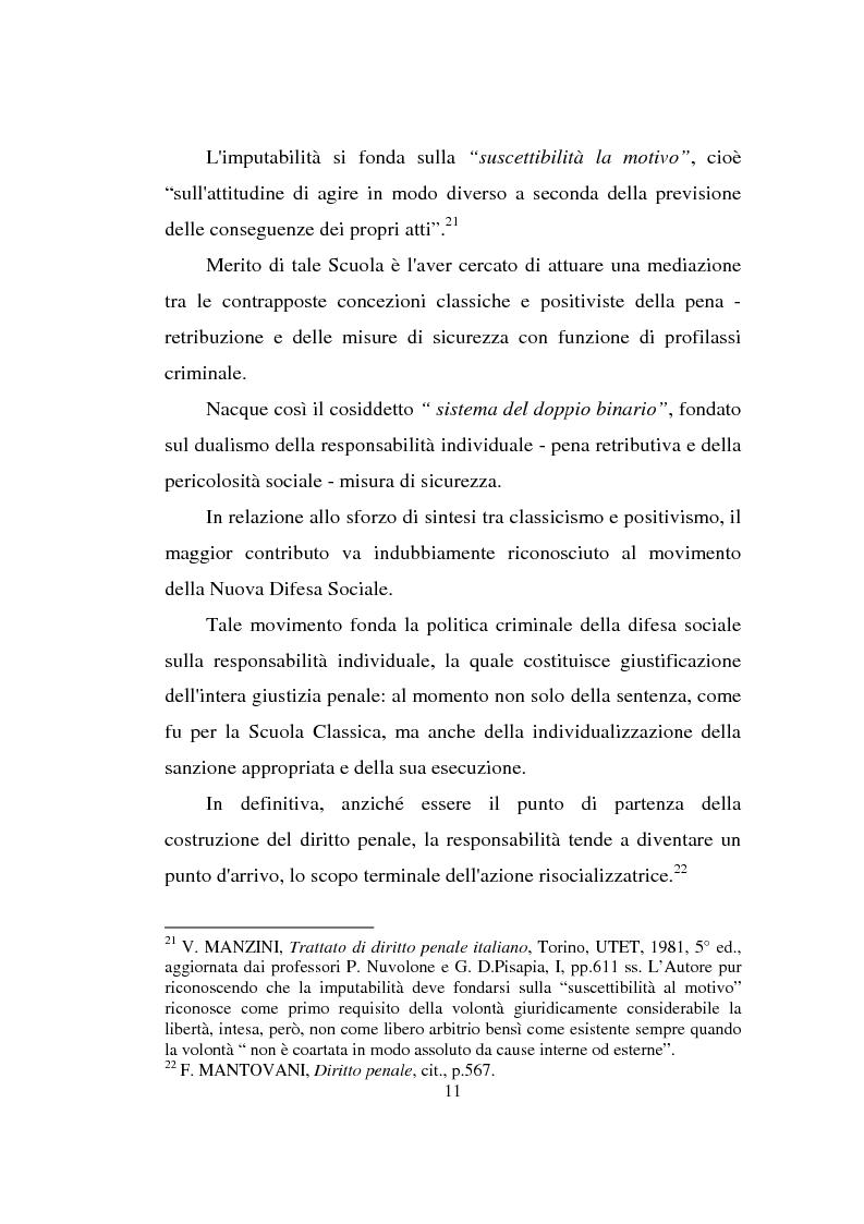 Anteprima della tesi: Actiones liberae in causa, Pagina 11