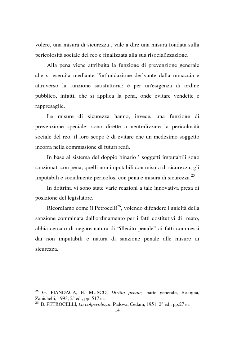 Anteprima della tesi: Actiones liberae in causa, Pagina 14