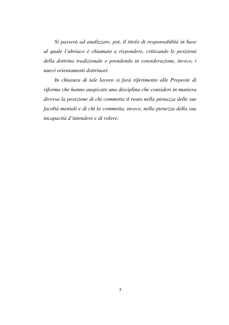 Anteprima della tesi: Actiones liberae in causa, Pagina 3