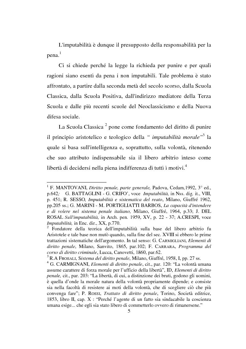 Anteprima della tesi: Actiones liberae in causa, Pagina 5