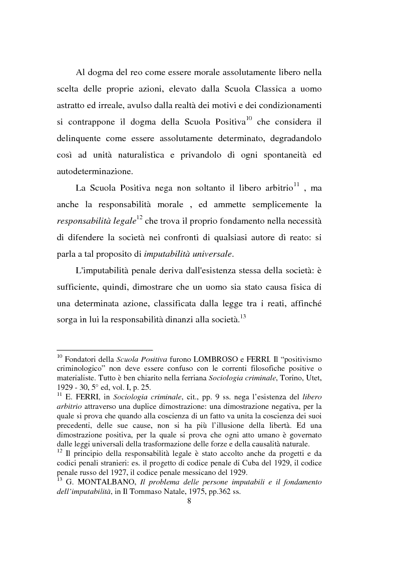 Anteprima della tesi: Actiones liberae in causa, Pagina 8