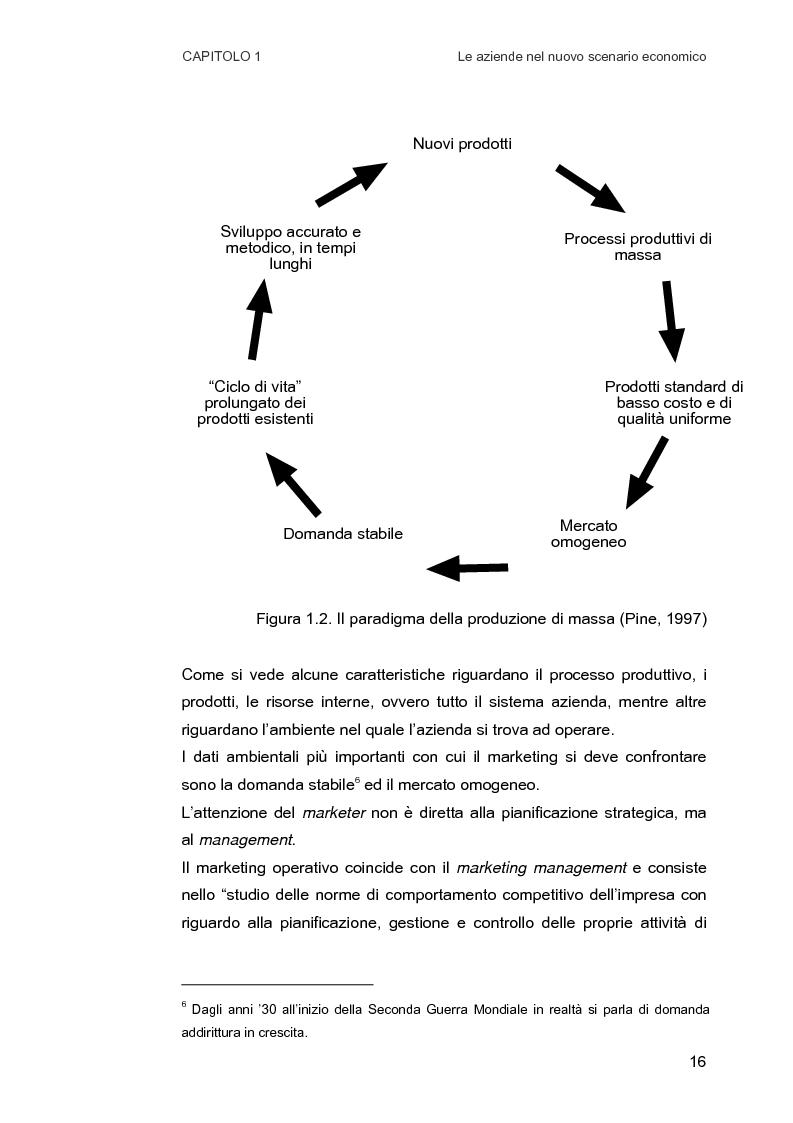 Anteprima della tesi: Customer Relationship Management. Caratteristiche e implementazione di una strategia cliente-centrica, Pagina 8