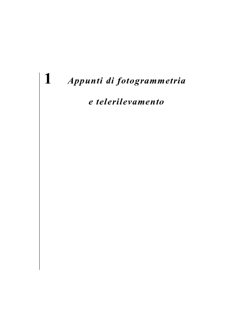 Anteprima della tesi: Georeferenziazione automatica di immagini satellitari ad alta risoluzione, Pagina 2