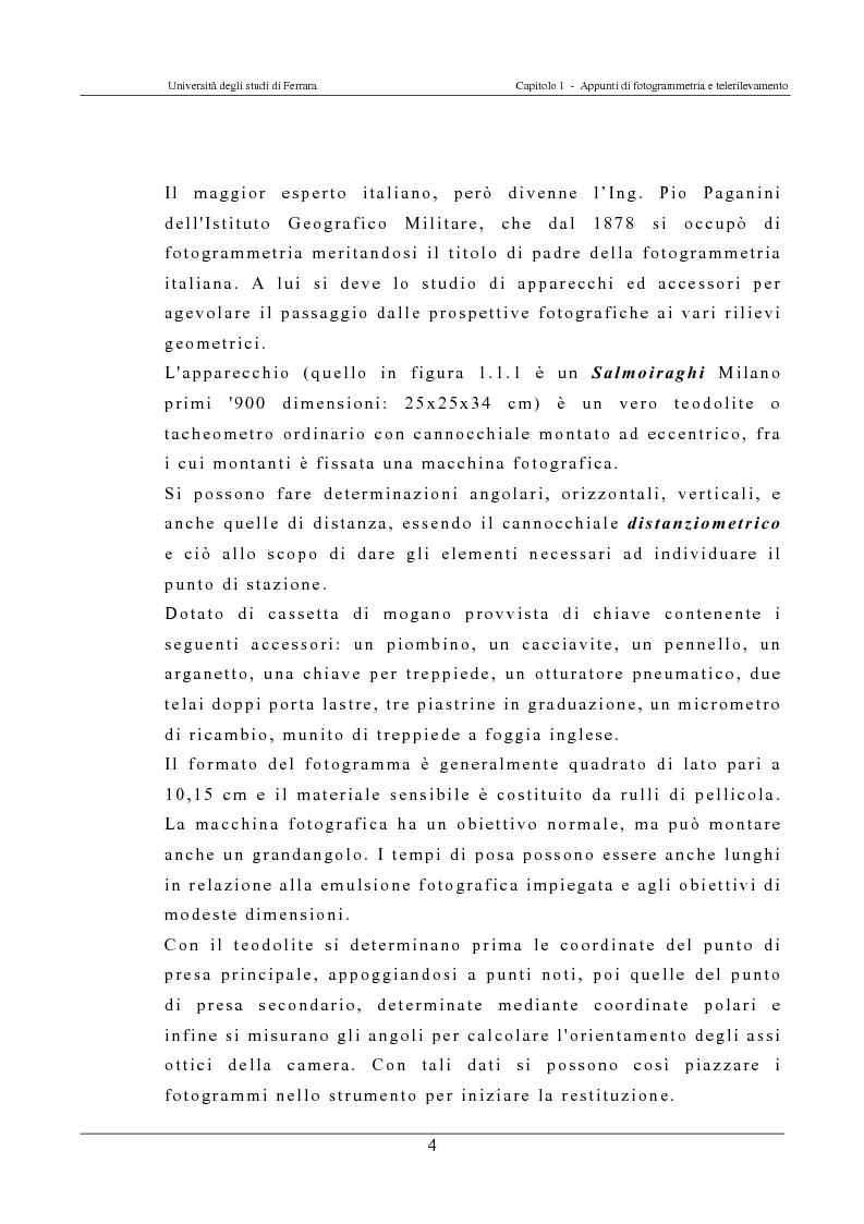 Anteprima della tesi: Georeferenziazione automatica di immagini satellitari ad alta risoluzione, Pagina 4