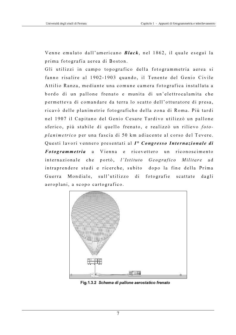 Anteprima della tesi: Georeferenziazione automatica di immagini satellitari ad alta risoluzione, Pagina 7