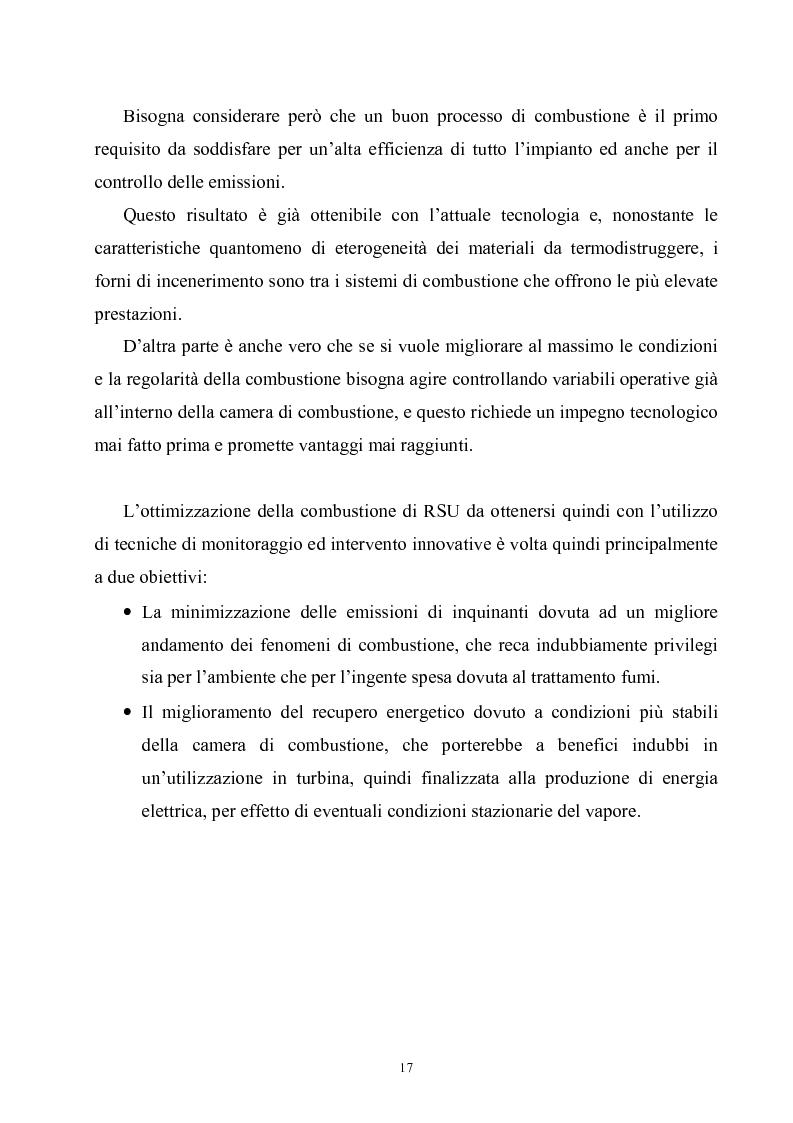 Anteprima della tesi: Termoutilizzazione dei rifiuti: ottimizzazione e controllo di processo, Pagina 15