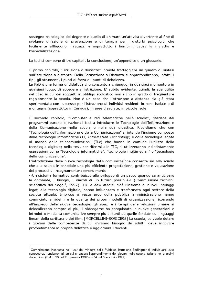 Anteprima della tesi: TIC e FaD per studenti ospedalizzati, Pagina 2