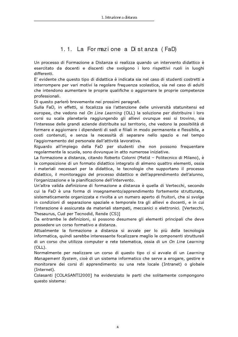 Anteprima della tesi: TIC e FaD per studenti ospedalizzati, Pagina 6