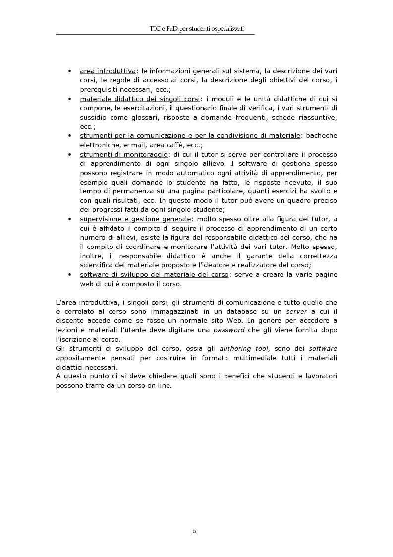 Anteprima della tesi: TIC e FaD per studenti ospedalizzati, Pagina 7