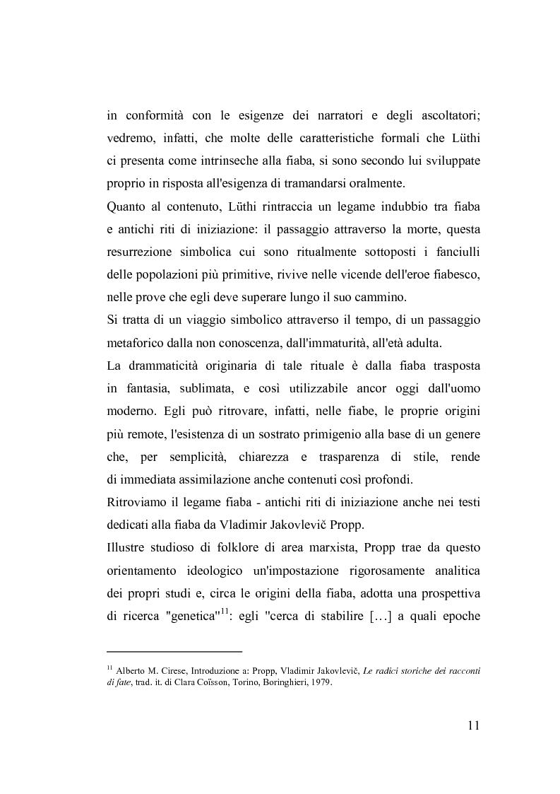 Anteprima della tesi: La fiaba nella cura di sè, Pagina 11