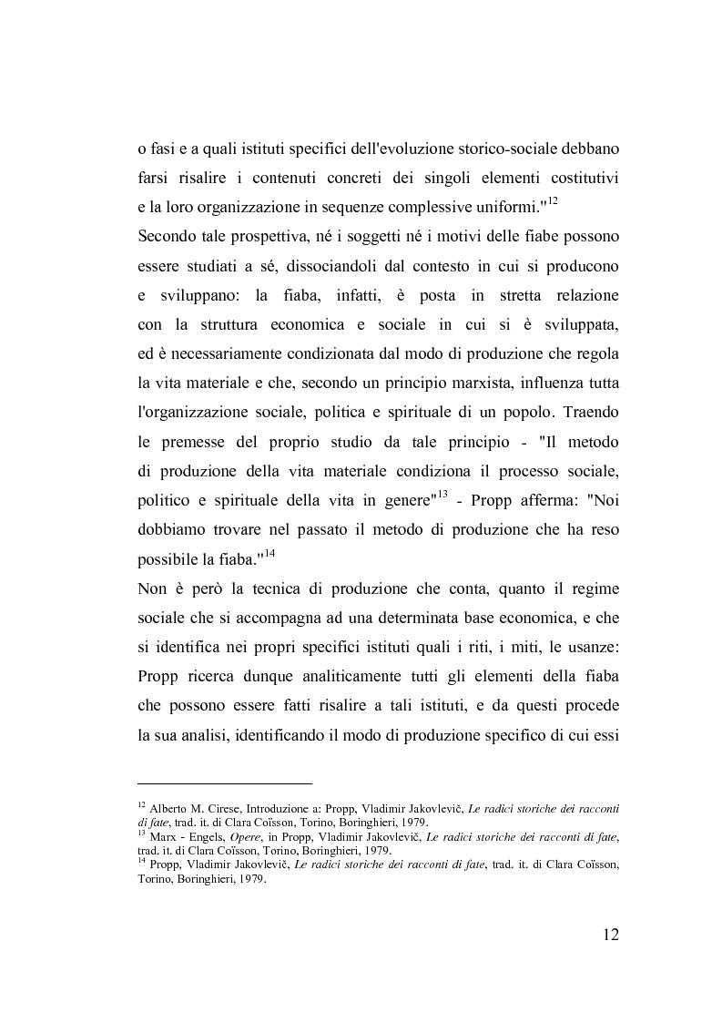 Anteprima della tesi: La fiaba nella cura di sè, Pagina 12