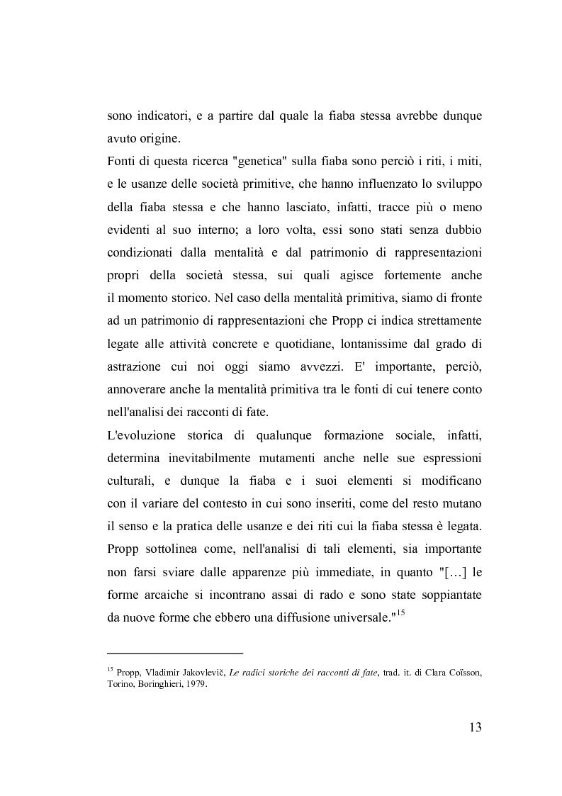 Anteprima della tesi: La fiaba nella cura di sè, Pagina 13