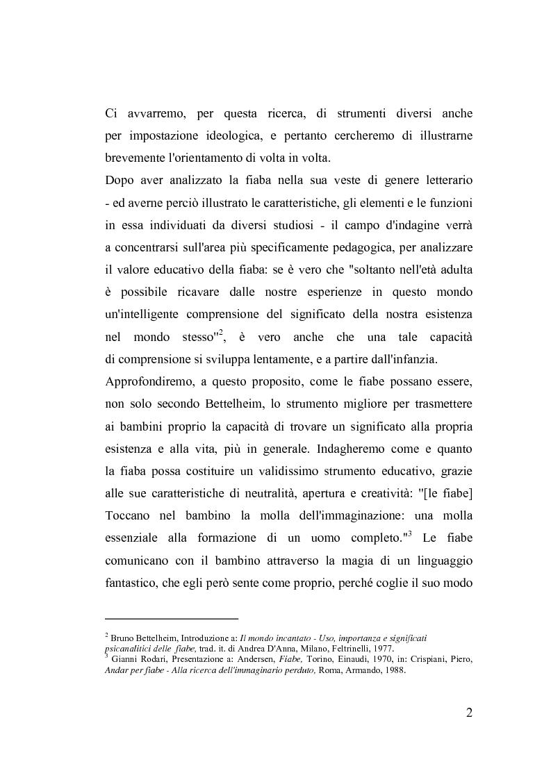 Anteprima della tesi: La fiaba nella cura di sè, Pagina 2