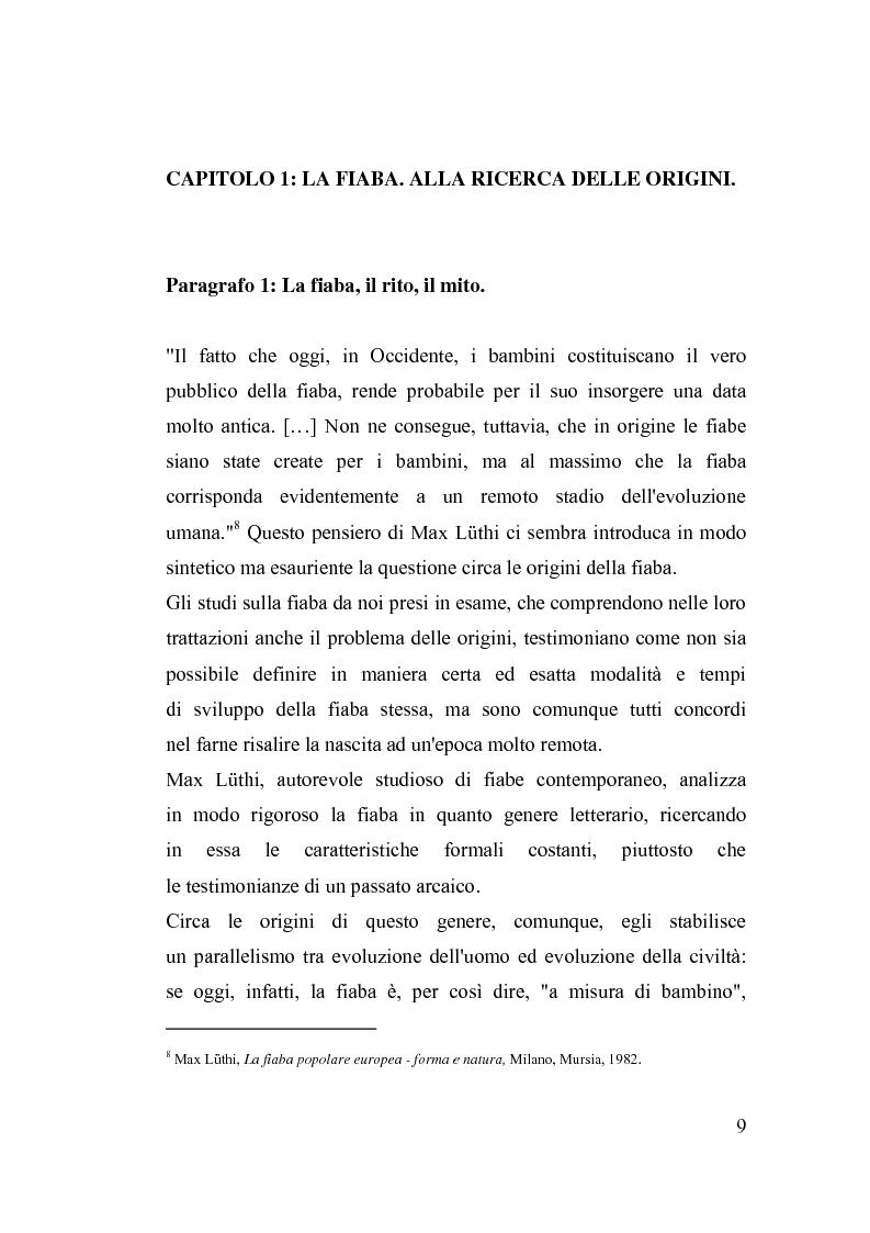 Anteprima della tesi: La fiaba nella cura di sè, Pagina 9