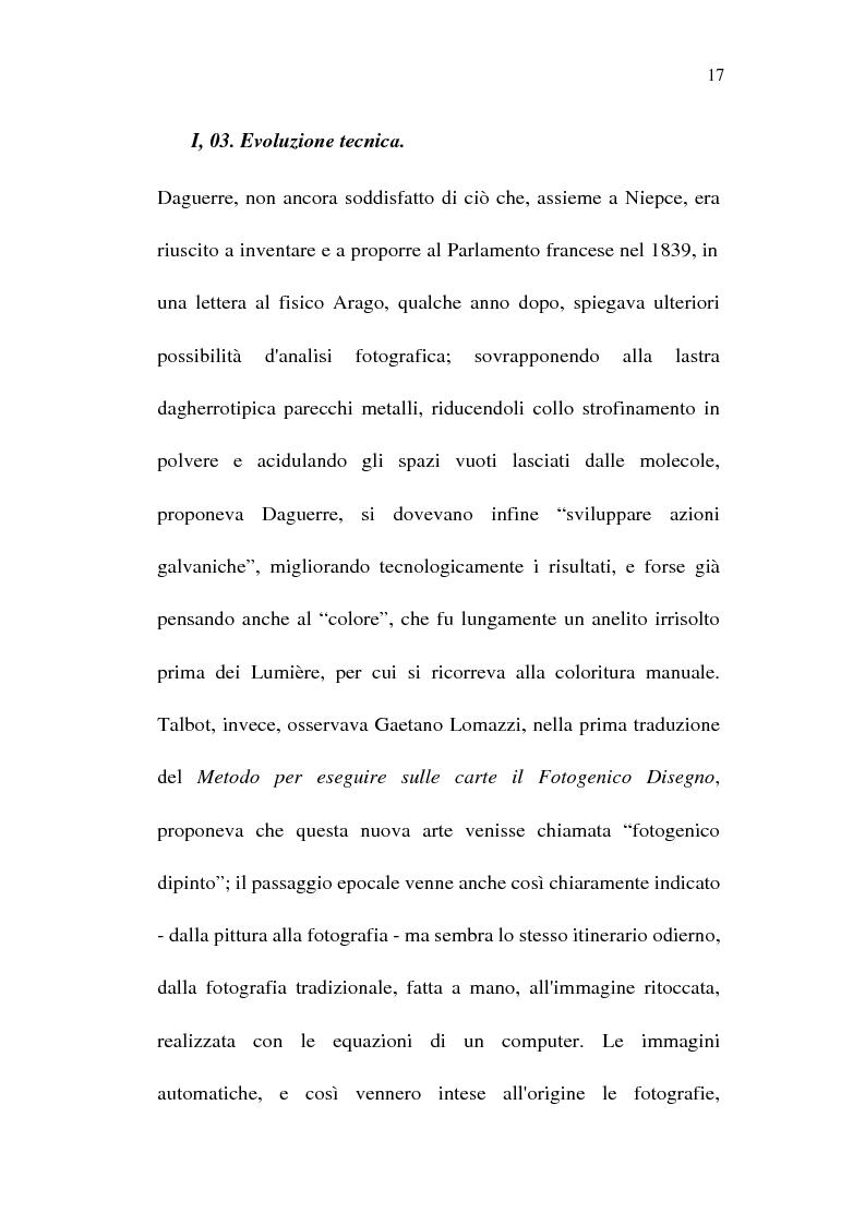 Anteprima della tesi: Fotografia è design. Un laboratorio della visione, dalle origini alle espressioni attuali, Pagina 15