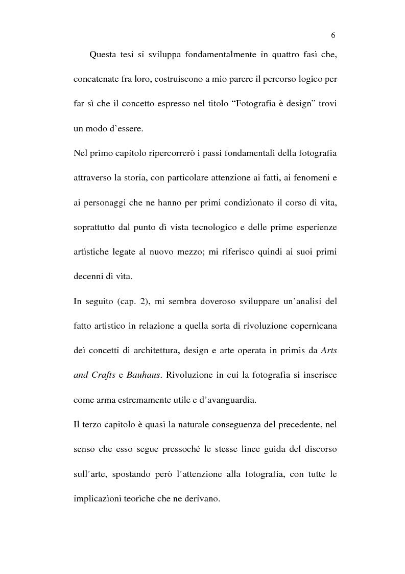 Anteprima della tesi: Fotografia è design. Un laboratorio della visione, dalle origini alle espressioni attuali, Pagina 4