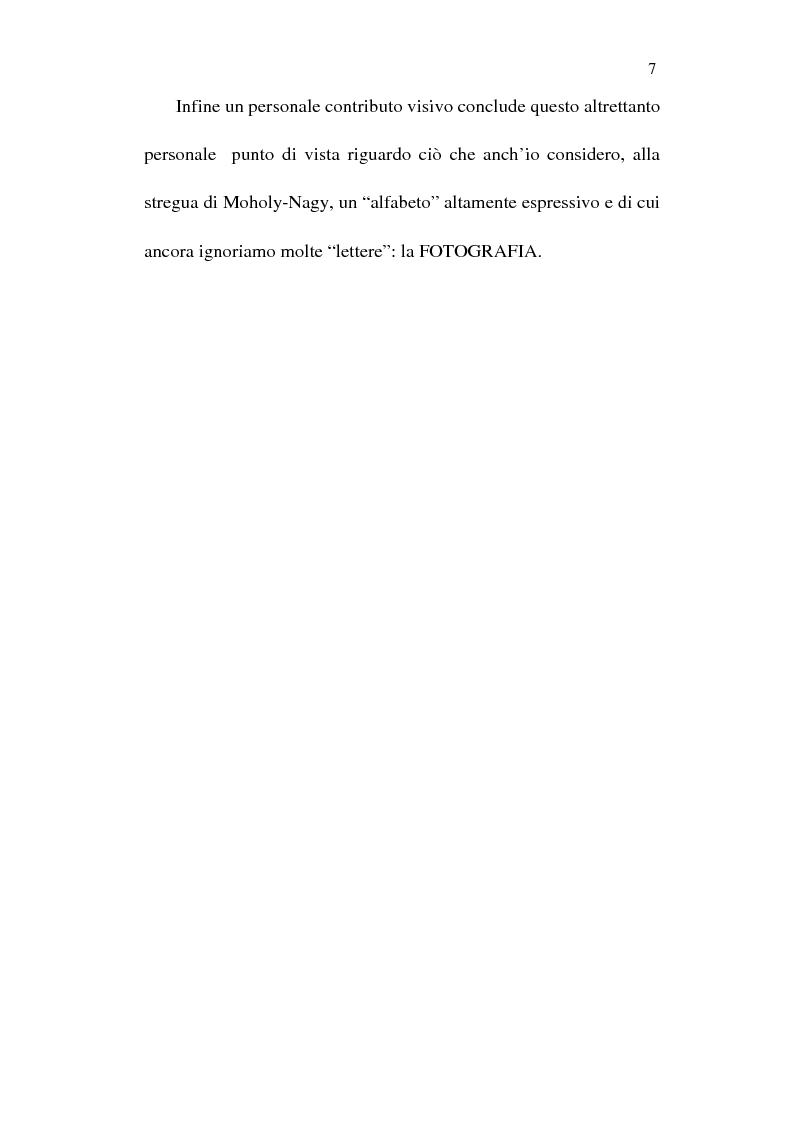 Anteprima della tesi: Fotografia è design. Un laboratorio della visione, dalle origini alle espressioni attuali, Pagina 5