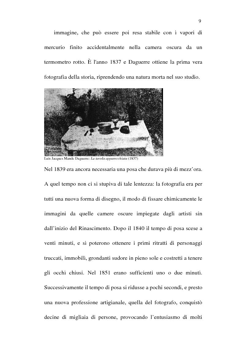 Anteprima della tesi: Fotografia è design. Un laboratorio della visione, dalle origini alle espressioni attuali, Pagina 7