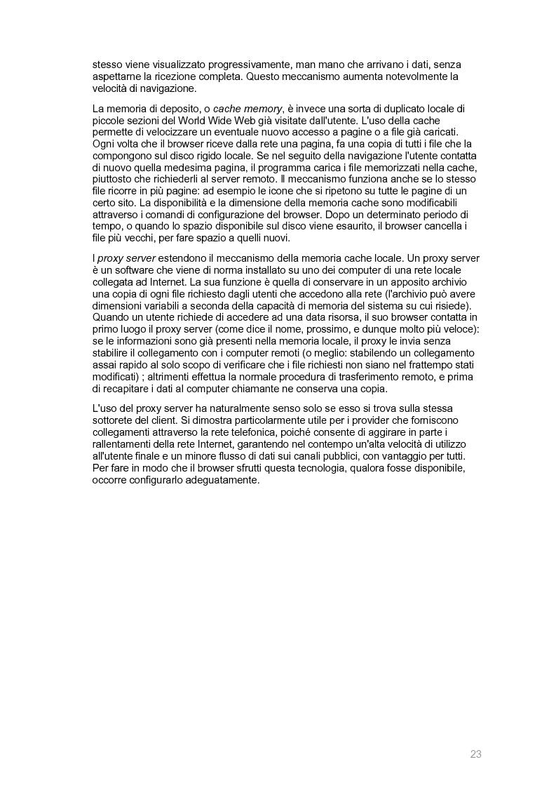 Anteprima della tesi: Ecocity: un sito per la ''fidelizzazione'' di clienti, Pagina 15
