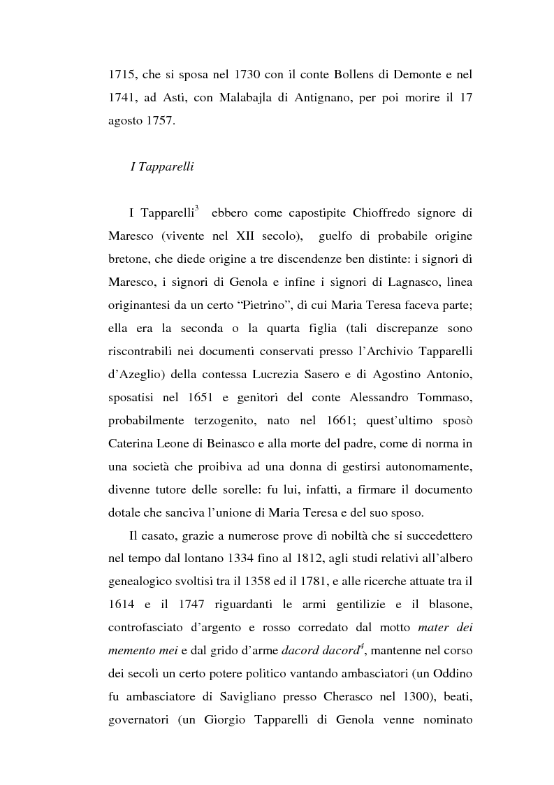 Anteprima della tesi: Una dama in Parnaso: l'arcade piemontese Benedetta Clotilde Lunelli Spinola (1700-1774), Pagina 5