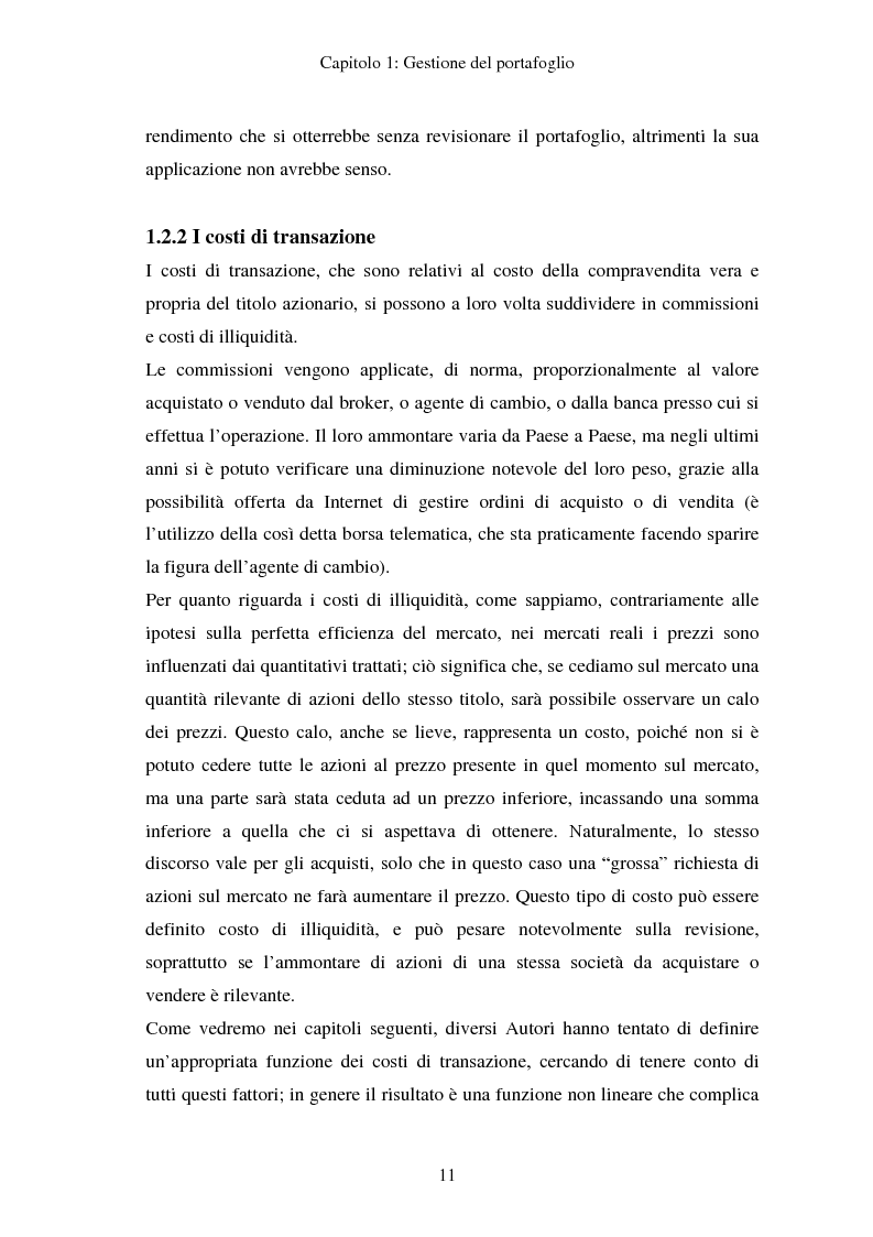 Anteprima della tesi: Gestione del portafoglio: generazione di scenari e applicazioni al mercato azionario italiano, Pagina 7