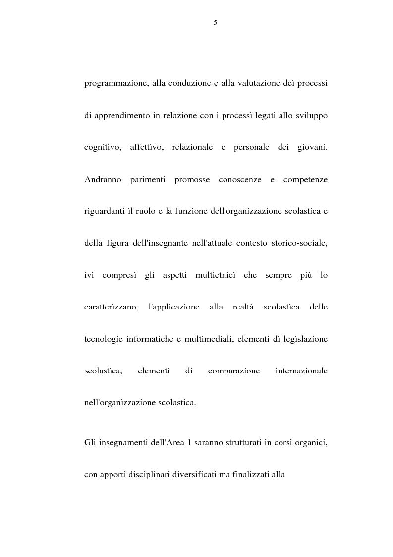 Anteprima della tesi: Relazione finale sulle attività di tirocinio e di laboratorio, Pagina 5