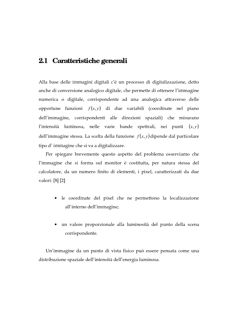 Anteprima della tesi: Il problema della rifocalizzazione di immagini digitali in presenza di rumore, Pagina 11