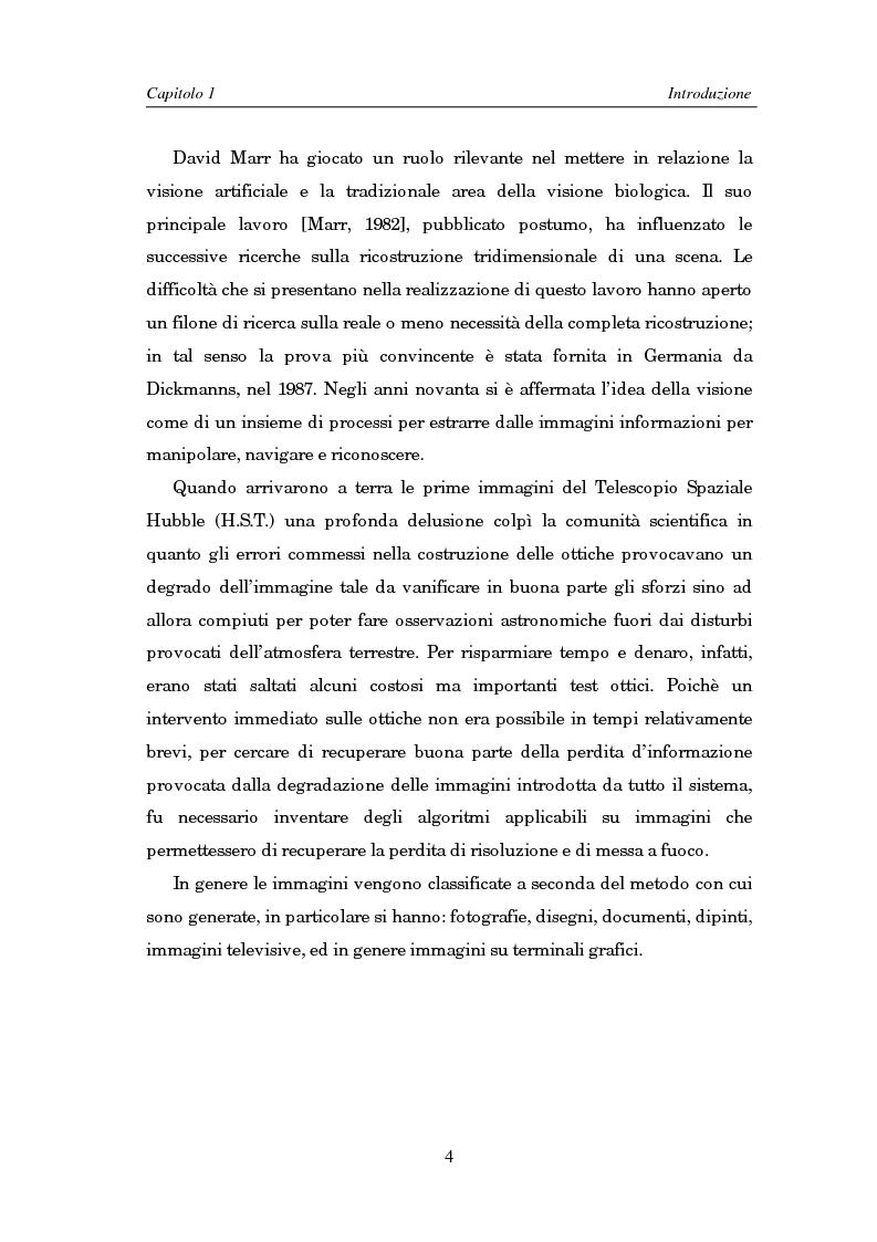 Anteprima della tesi: Il problema della rifocalizzazione di immagini digitali in presenza di rumore, Pagina 4