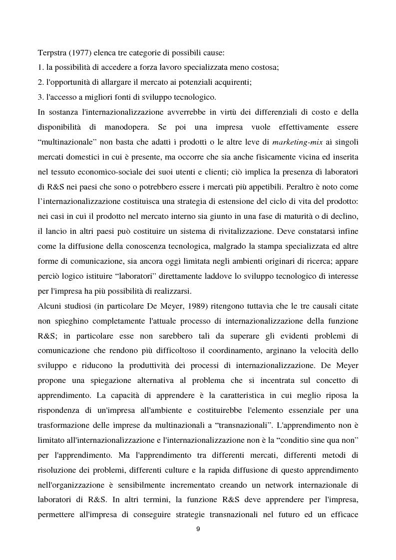 Anteprima della tesi: La cooperazione tra imprese nella ricerca: un'analisi reticolare, Pagina 4