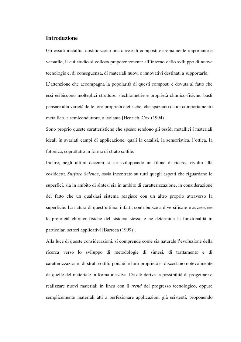 Anteprima della tesi: Sintesi di triossido di cobalto e lantanio mediante processi sol-gel, Pagina 1