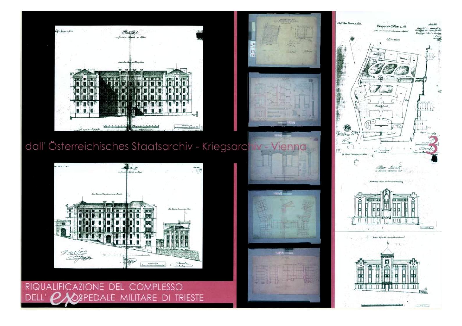 Anteprima della tesi: Riqualificazione del complesso dell'ex ospedale militare di Trieste, Pagina 1
