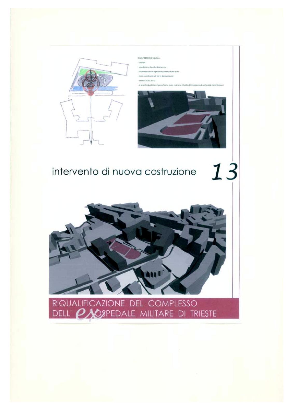 Anteprima della tesi: Riqualificazione del complesso dell'ex ospedale militare di Trieste, Pagina 5