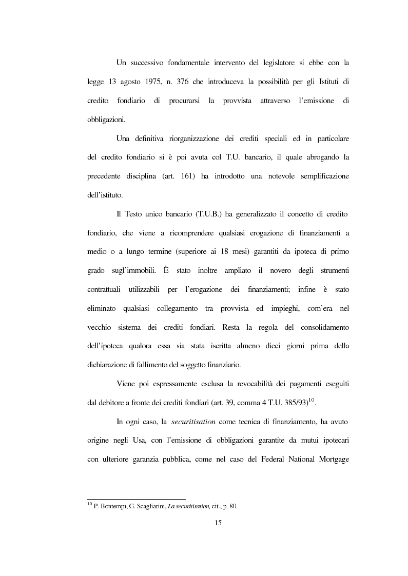 Anteprima della tesi: La nuova disciplina sulla cartolarizzazione dei crediti, Pagina 11