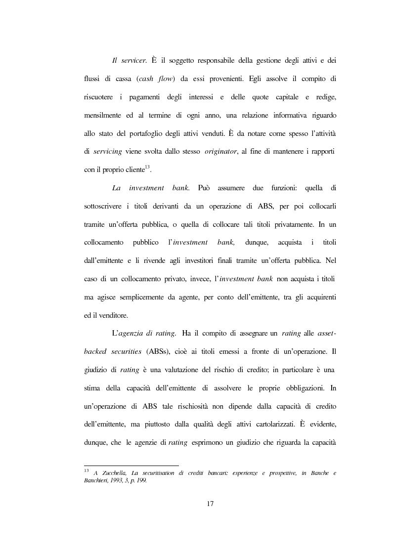 Anteprima della tesi: La nuova disciplina sulla cartolarizzazione dei crediti, Pagina 13