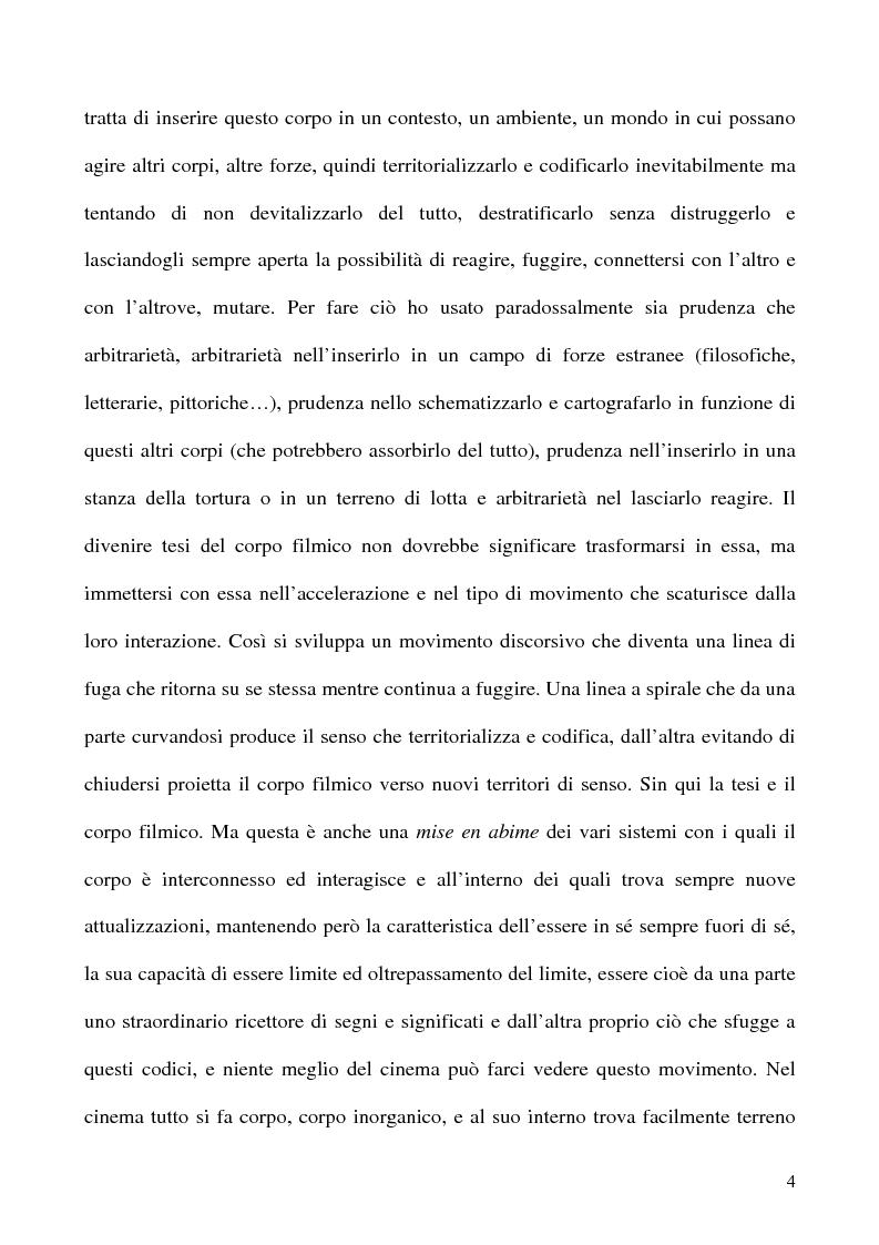 Anteprima della tesi: Corpo organico e corpo inorganico nel cinema di David Cronenberg, Pagina 2