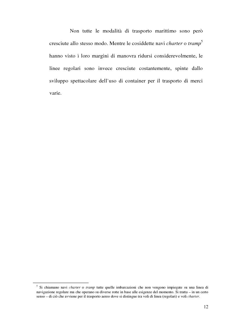 Anteprima della tesi: I porti commerciali della Comunidad Valenciana tra concorrenza e specializzazione, Pagina 13