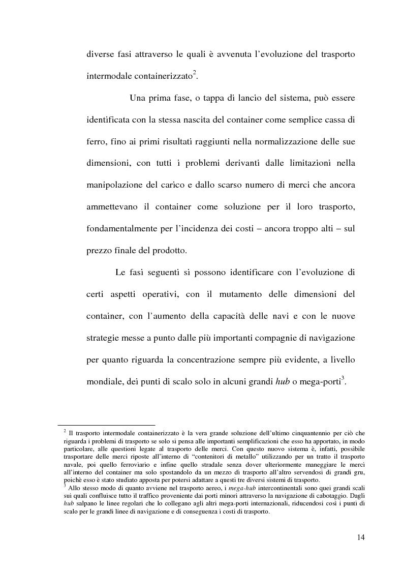 Anteprima della tesi: I porti commerciali della Comunidad Valenciana tra concorrenza e specializzazione, Pagina 15