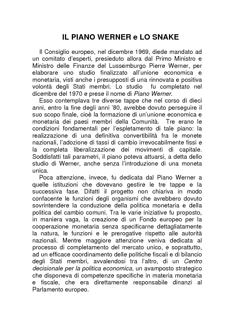 Anteprima della tesi: La BCE (Banca Centrale Europea), Pagina 10