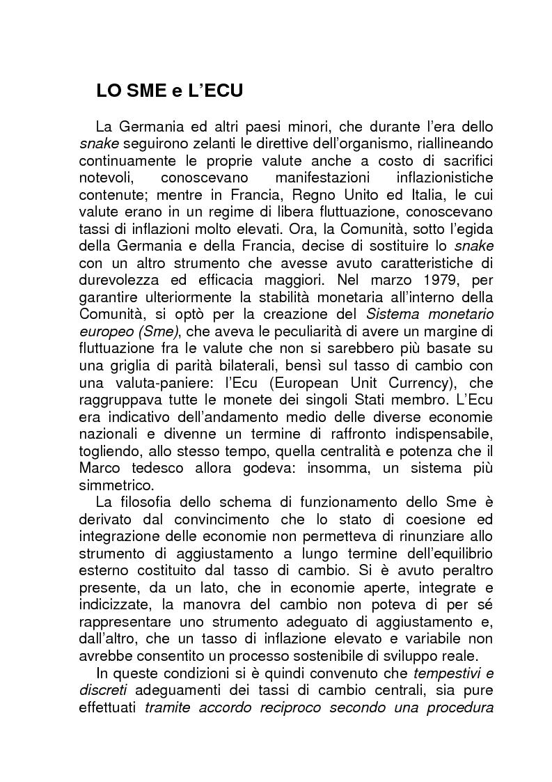 Anteprima della tesi: La BCE (Banca Centrale Europea), Pagina 12