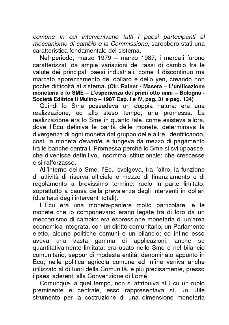 Anteprima della tesi: La BCE (Banca Centrale Europea), Pagina 13