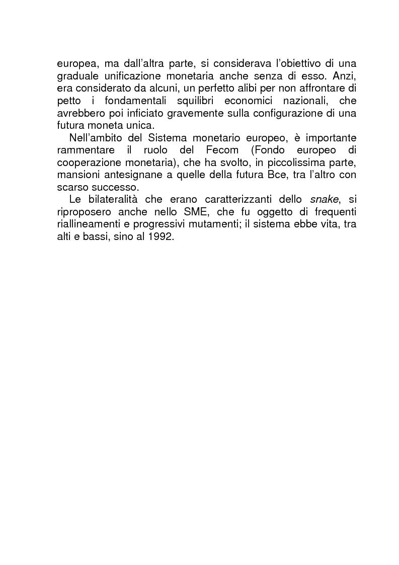 Anteprima della tesi: La BCE (Banca Centrale Europea), Pagina 14